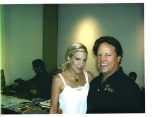 Tori Spelling and Steve Moore