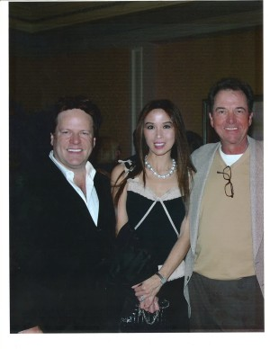 Steve and Lily Moore with Greg Itzin