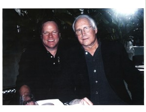 Steve Moore and Chevy Chase