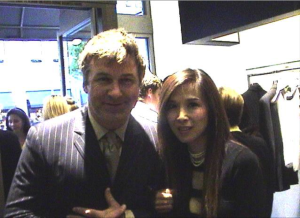 Alec Baldwin and Lily Moore