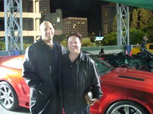 Vin Diesel and Steve Moore