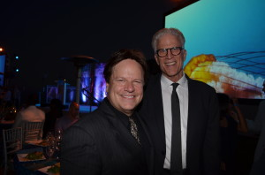 Steve Moore and Ted Danson