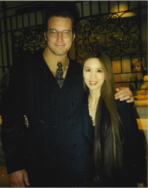 John Corbett and Lily Moore