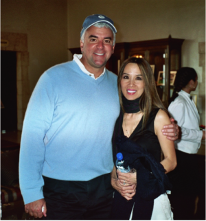 John O'Hurley and Lily Moore