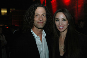 Kenny G and Lily Moore