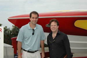 Pete Sampras and Steve Moore