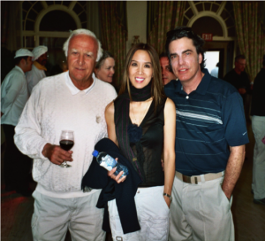 Robert Loggia, Lily Moore and Peter Gallagher