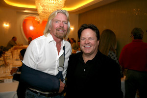 Richard Branson and Steve Moore