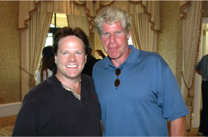 Steve Moore and Ron Perlman