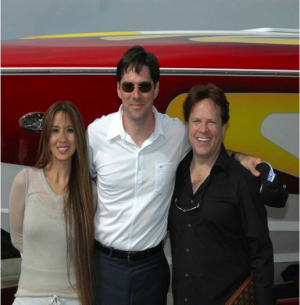Lily and Steve Moore with Thomas Gibson