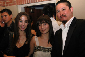 Lily Moore, Josie Ho and Conroy Chan