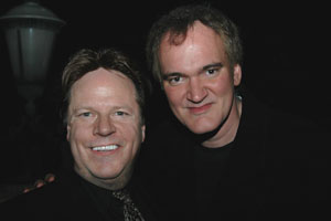 Steve Moore and Quentin Tarantino