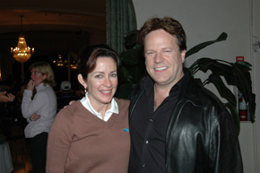 Patricia Heaton and Steve Moore
