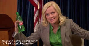Parks And Recreation Mountain Spring Water
