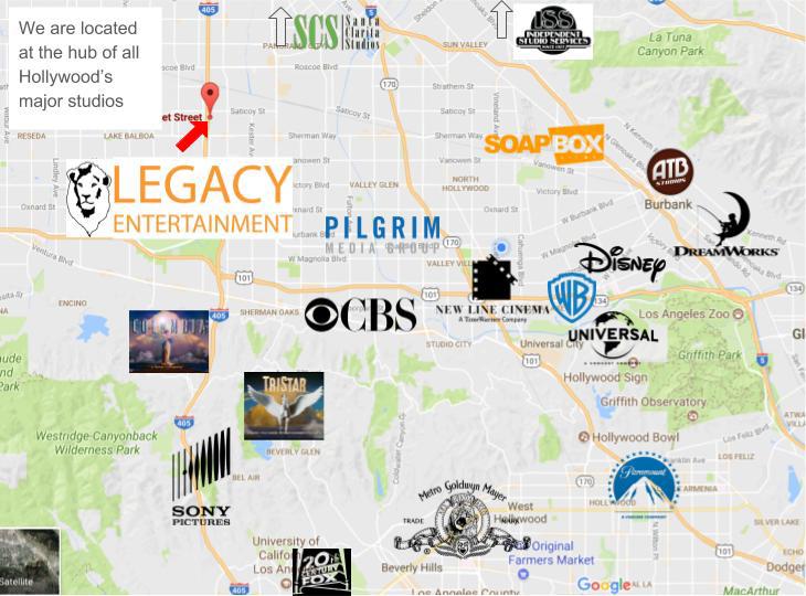 legacy studio map